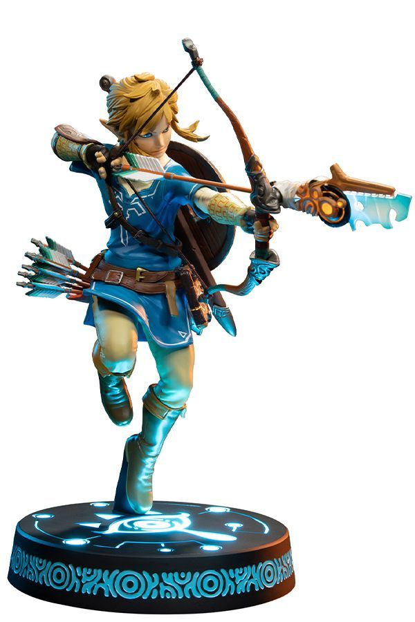 THE LEGEND OF ZELDA BREATH OF THE WILD  LINK PVC STATUE COLLECTORS EDITION