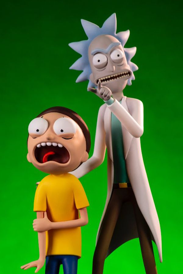 RICK AND MORTY: RICK AND MORTY FIGURE TWO-PACK