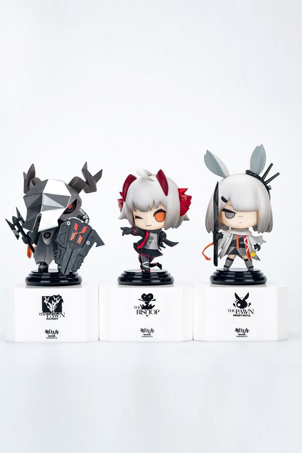 """APEX """"ARKNIGHTS"""" CHESS PIECE SERIES VOL.3 SET OF 3"""