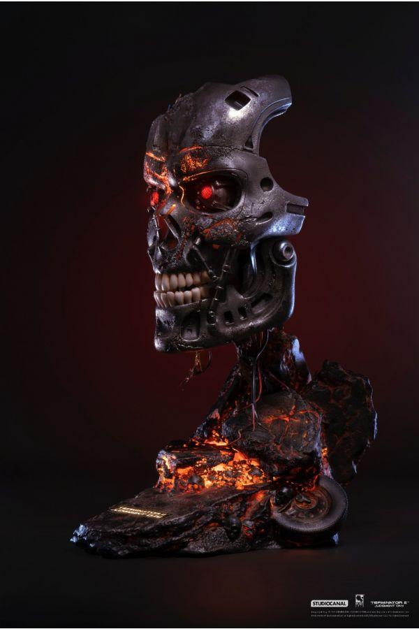 TERMINATOR 2: T-800  Battle Damaged Edition Art Mask