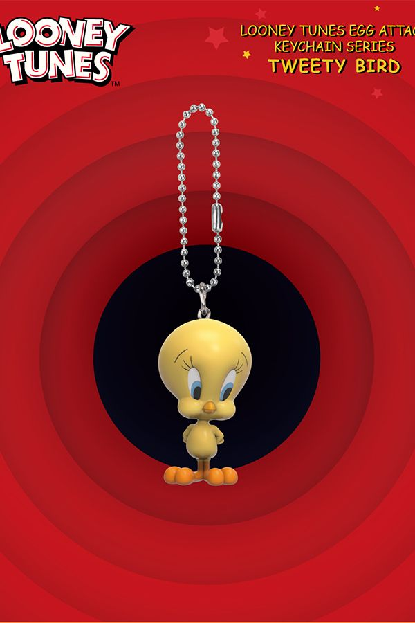 LOONEY TUNES EGG ATTACK KEYCHAIN SERIES BLIND BOX