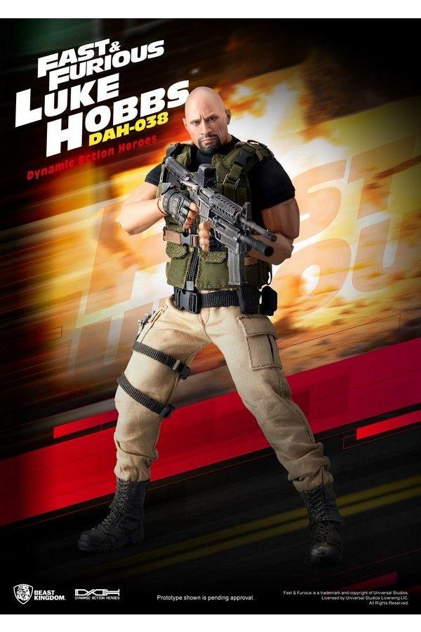 FAST AND FURIOUS LUKE HOBBS DYNAMIC 8CTION HEROES