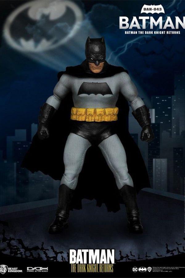 THE DARK KNIGHT RETURN BATMAN DYNAMIC 8CTION HEROES