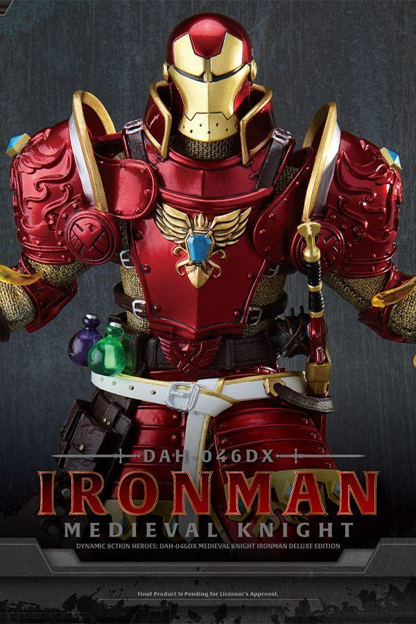 MEDIEVAL KNIGHT –  IRON MAN DELUXE VERSION