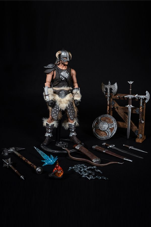 SKYRIM'S DRAGONBORN 1/6 ARTICULATED FIGURE-DX EDITION