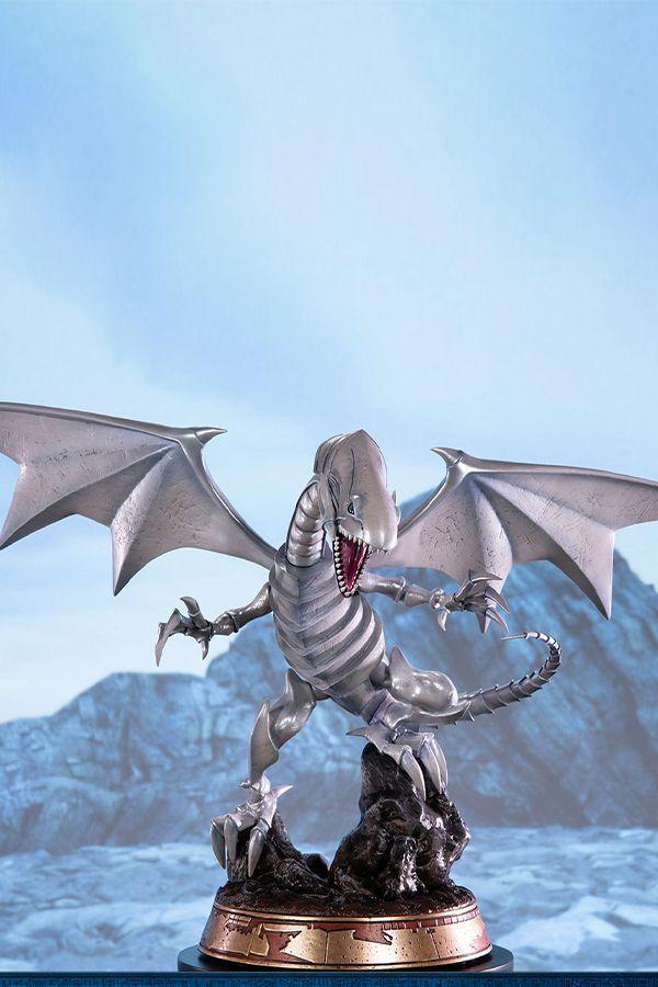 YU-GI-OH!-BLUE-EYES WHITE DRAGON WHITE EDITION