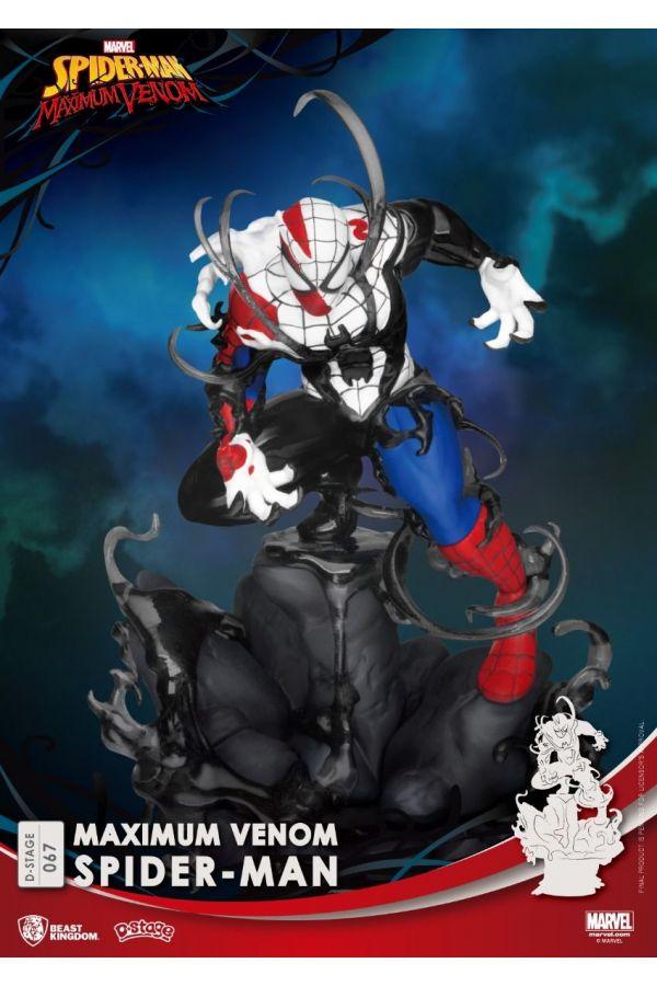 MARVEL D-STAGE MAXIMUM VENOM-SPIDER MAN