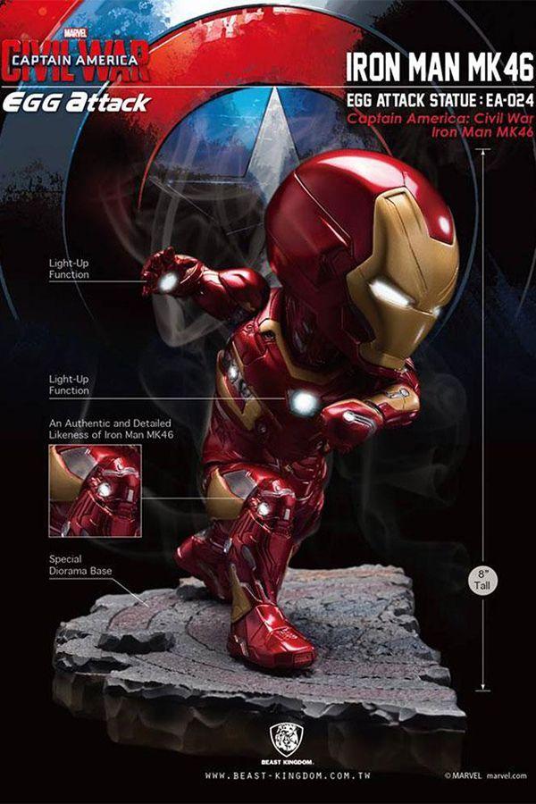 Captain America: Civil War Iron Man MK46 Statue