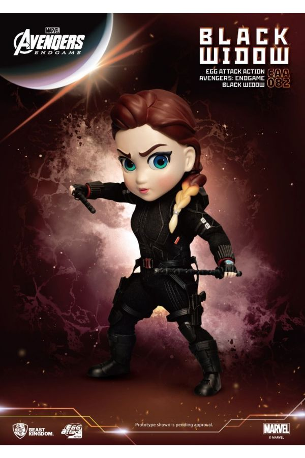 AVENGERS ENDGAME: EGG ATTACK ACTION-BLACK WIDOW