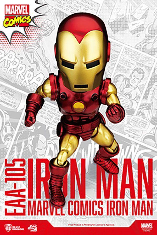MARVEL COMICS IRON MAN CLASSIC VERSION