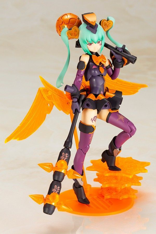 MEGAMI DEVICE CHAOS & PRETTY MAGICAL GIRL DARKNESS MODEL KIT