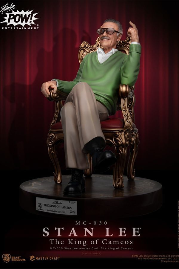 STAN LEE MASTER CRAFT THE KING OF CAMEOS