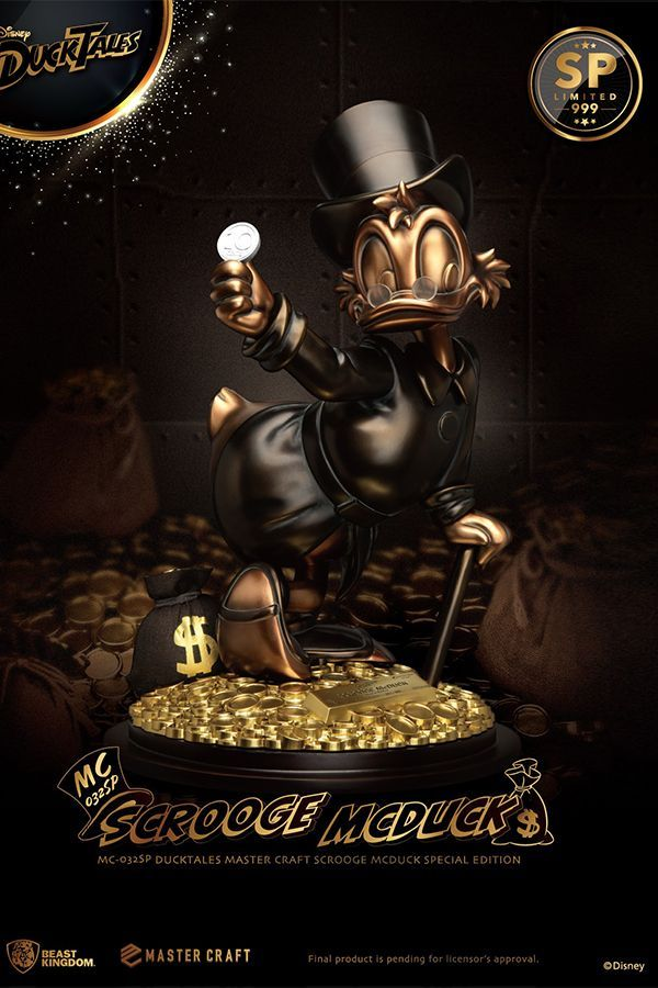 DUCK TALES MASTER CRAFT SCROOGE MCDCUCK SPECIAL EDITION