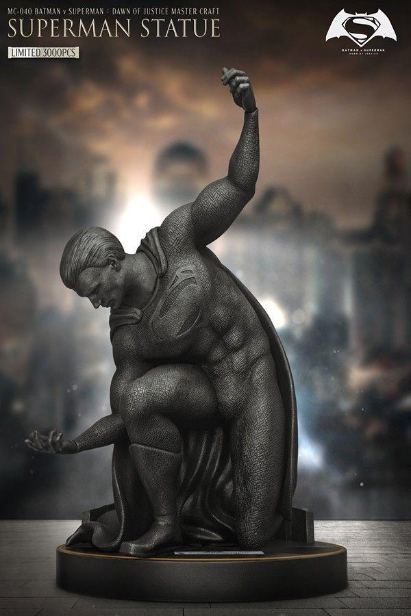 BATMAN V SUPERMAN DAWN OF JUSTICE MASTER CRAFT SUPERMAN STATUE