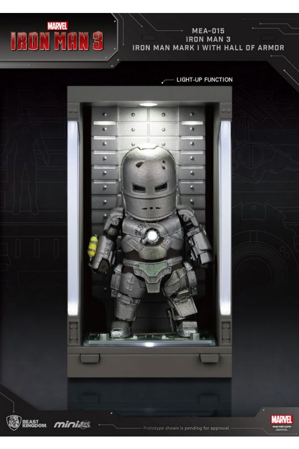IRON MAN 3: IRON MAN MARK I WITH HALL OF ARMOR