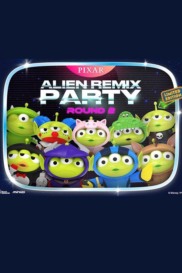ALIEN REMIX PARTY ROUND 2 SET