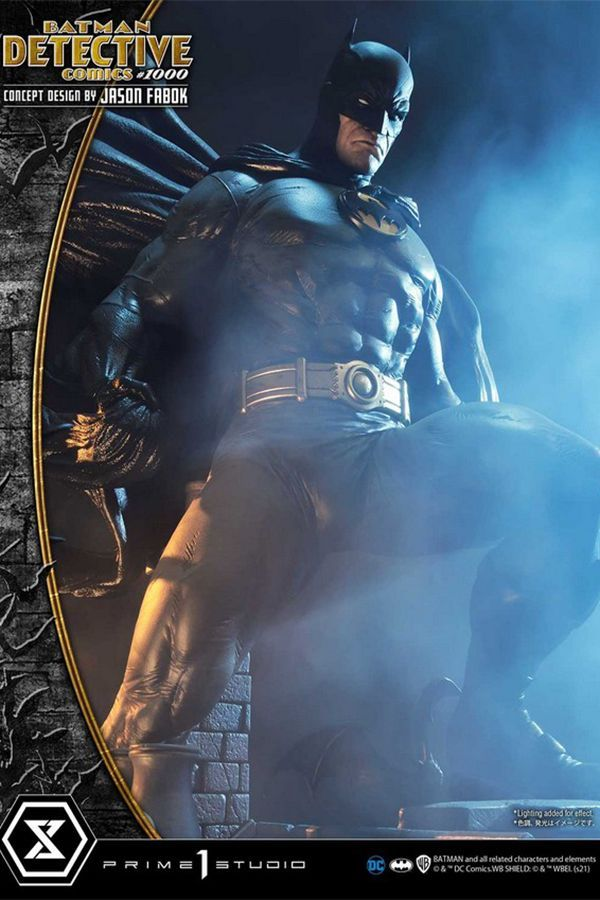 BATMAN DETECTIVE COMICS #1000 CONCEPT DESIGN BY JASON FABOK-DC COMICS
