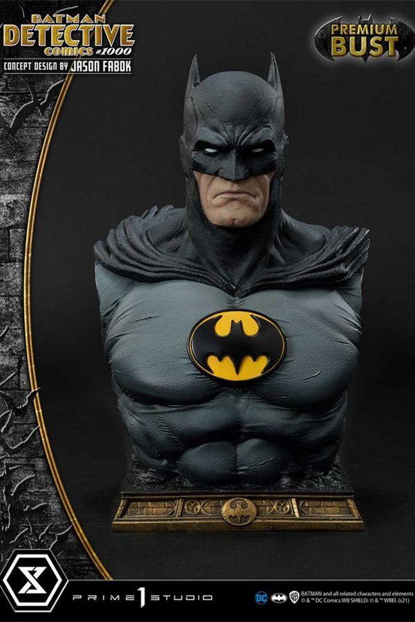 BATMAN DETECTIVE COMICS #1000 BUST  CONCEPT DESIGN BY JASON FABOK -DC COMICS