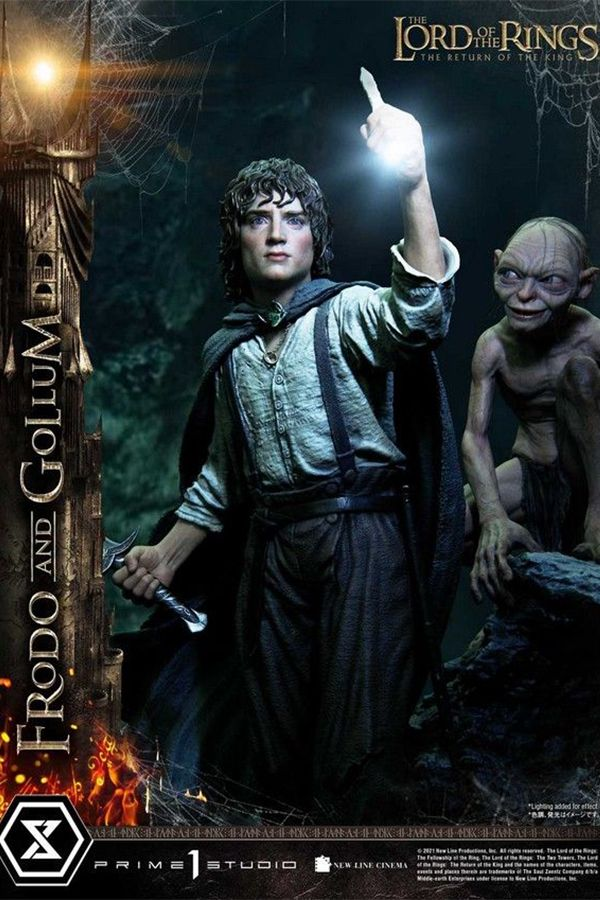 FRODO AND GOLLUM THE LORD OF THE RINGS THE RETURN OF THE KING