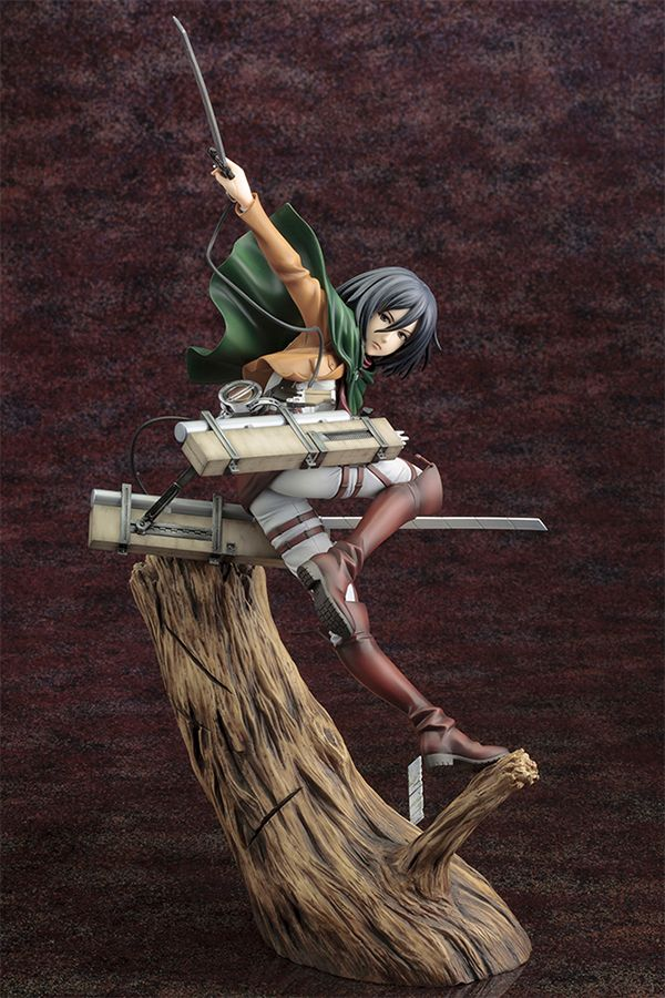 ATTACK ON TITAN ARTFX J  MIKASA ACKERMAN RENEWAL PACKAGE VER