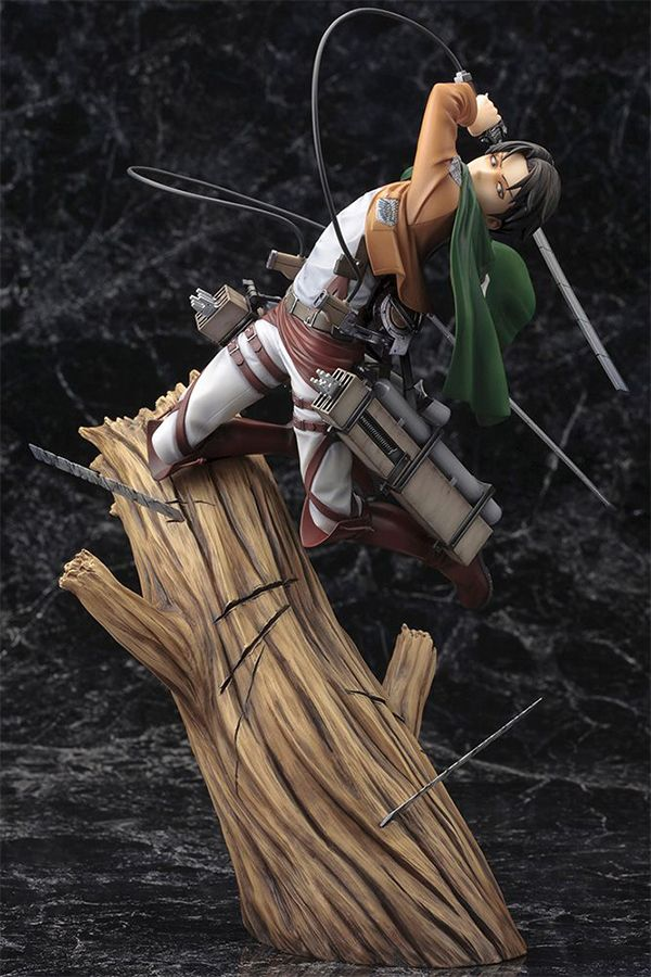 ATTACK ON TITAN ARTFX J LEVI RENEWAL PACKAGE VER.