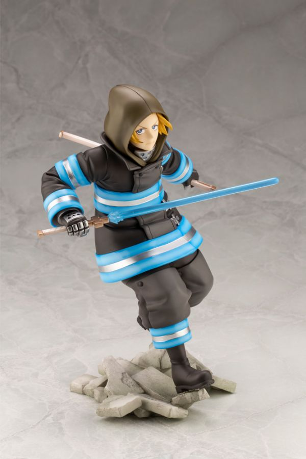 FIRE FORCE ARTFX J ARTHUR BOYLE