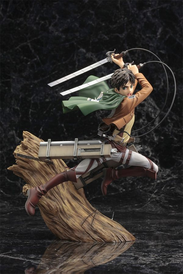 ATTACK ON TITAN  ARTFX J EREN YEAGER RENEWAL PACKAGE VER