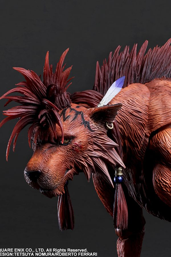 FINAL FANTASY® VII REMAKE PLAY ARTS KAI ™ACTION FIGURE - RED XIII