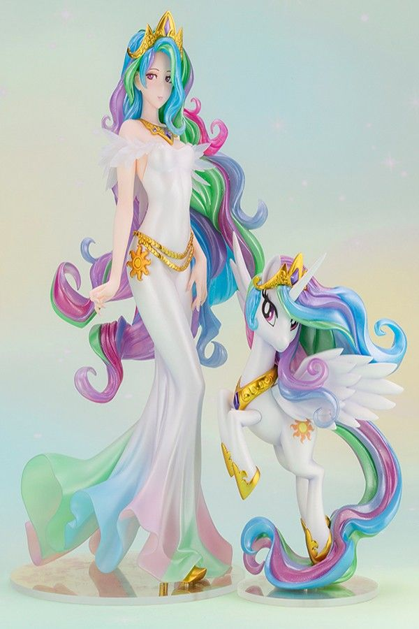 MY LITTLE PONY PRINCESS CELESTIA BISHOUJO STATUE