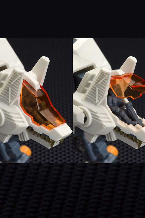 ZOIDS RHI-3 COMMAND WOLF REPACKAGE VER